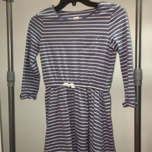 Lightly used Gap Kids striped Girls Dress